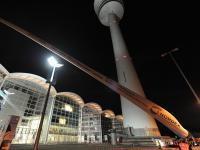 Weltneuheit: Das Rotorblatt des Windenergieanlagen-Herstellers Nordex SE.