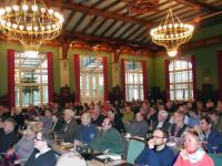 Die Tagung der Saaten-Union in Magdeburg war gut besucht.