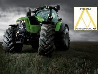 Der 7250 Agrotron TTV wurde mit dem Compasso d'Oro 2014 ausgezeichnet.
