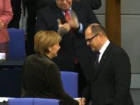 Christian Schmidt bei seiner Vereidigung als Landwirtschaftsminister.