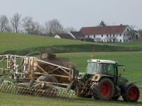 Die Stickstoff- und Phosphor-Emissionen aus der Schweinemast sind in Bayern zur�ckgegangen.