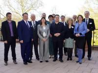 Die Agrarministerinnen und Agrarminister der 16 Bundesl�nder bei der Fr�hjahrs-AMK
