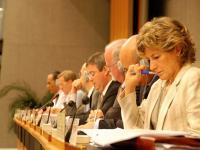 Br�ssel hat das russische Importverbot f�r EU-Schweinefleisch auf die Tagesordnung der WTO gebracht.