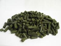 Grascobs sind Pellets aus Rohfaserprotein.