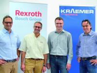 Kraemer Baumaschinen wird Bosch Rexroth Service Point
