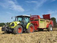 Der neue Traktor Claas Atos: Insgesamt gibt es sechs Modelle zwischen 76 und 109 PS.