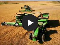 Netzschau: Luftaufnahmen einer kanadischen Ernte