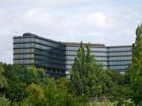 Das Europ�ische Patentamt in M�nchen.
