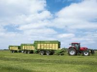 564 Millionen Euro hat Krone im Landtechnikbereich erwirtschaftet.