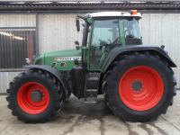 Der Traktor Fendt Vario 820 mit stufenlosem Getriebe und 200 PS.