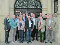 Wissenschaftler, Berater und Mitarbeiter der Verwaltung z�hlten zu den Referenten der Fachtagung zum N�hrstoffmanagement von Wirtschaftsd�ngern und G�rresten in Hannover. Unser Foto zeigt alle Vortragenden.